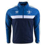 Chelsea adidas Originals Half-zip Windbreaker