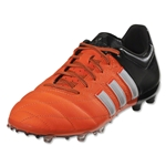 adidas Ace 15.1 FG/AG Junior Leather (Solar Orange/White)