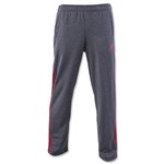 adidas Ultimate Fleece 3S Pant (Gray/Red)