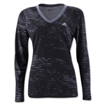 adidas Ultimate LS Women's Shirt (Black)