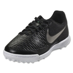 Nike Magista X Pro TF Junior (Black/Metallic Pewter/Green Glow)