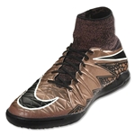Nike Hypervenom Proximo IC Junior (Metallic Red Bronze/Green Glow)