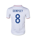 USA 2014 Clint Dempsey Youth Home Soccer Jersey
