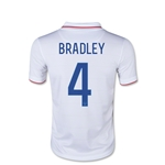 USA 2014 Michael Bradley Youth Home Soccer Jersey