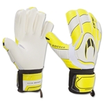 HO Soccer One Negative Cut Glove (Flu Yellow/Black)