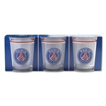 Paris Saint-Germain Glasses (3 pack)