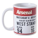 Arsenal Match Day Mug