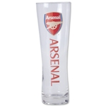 Arsenal Wordmark Slim Pint Glass
