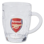 Arsenal Dimple Pint Glass