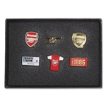 Arsenal 6 Pack Badge Set