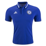 Chelsea adidas Anthem Polo (Royal)