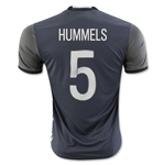 Germany 2016 HUMMELS Away Soccer Jersey