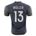 Germany 2016 MULLER Away Soccer Jersey