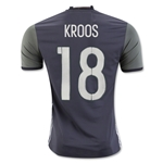 Germany 2016 KROOS Authentic Away Soccer Jersey