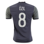 Germany 2016 OZIL Authentic Away Soccer Jersey
