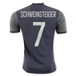 Germany 2016 SCHWEINSTEIGER Authentic Away Soccer Jersey