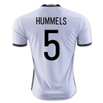 Germany 2016 HUMMELS Home Soccer Jersey