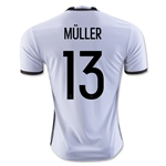 Germany 2016 MULLER Home Soccer Jersey
