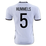 Germany 2016 HUMMELS Authentic Home Soccer Jersey