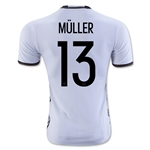Germany 2016 MULLER Authentic Home Soccer Jersey