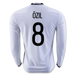 Germany 2016 OZIL LS Home Soccer Jersey