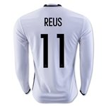 Germany 2016 REUS LS Home Soccer Jersey