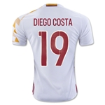 Spain 2016 DIEGO COSTA Away Soccer Jersey