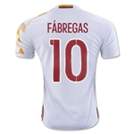 Spain 2016 FABREGAS Away Soccer Jersey