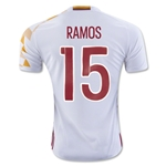 Spain 2016 RAMOS Away Soccer Jersey