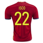 Spain 2016 ISCO Home Soccer Jersey