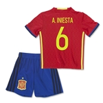 Spain 2016 A. INIESTA Home Mini Kit