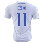 Bosnia and Herzegovina 2016 DZEKO Away Soccer Jersey