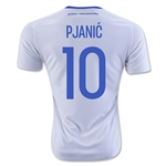 Bosnia and Herzegovina 2016 PJANIC Away Soccer Jersey
