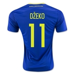 Bosnia and Herzegovina 2016 DZEKO Home Soccer Jersey