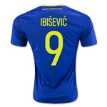 Bosnia and Herzegovina 2016 IBISEVIC Home Soccer Jersey
