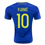 Bosnia and Herzegovina 2016 PJANIC Home Soccer Jersey