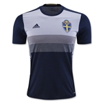 Sweden 2016 Away Soccer Jersey