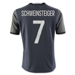 Germany 2016 SCHWEINSTEIGER Youth Away Soccer Jersey