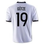 Germany 2016 GOTZE Youth Home Soccer Jersey