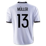Germany 2016 MULLER Youth Home Soccer Jersey