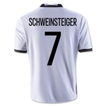 Germany 2016 SCHWEINSTEIGER Youth Home Soccer Jersey