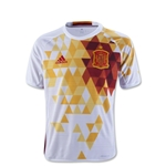 Spain 2016 Youth Away Soccer Jersey