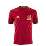 Spain 2016 Youth Home Soccer Jersey