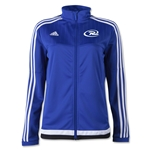 adidas Rush Tiro 15 Women's Training Jacket (Royal Blue)