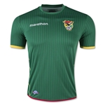 Bolivia 2016 Home Soccer Jersey