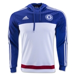 Chelsea FC Men's Hooded Sweatshirt (White/Royal)