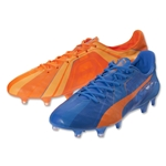Puma evoSpeed SL H2H FG (Orange Clownfish/Electric Blue Lemonade)