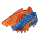 Puma evoSpeed 4 H2H FG (Orange Clownfish/Electric Blue Lemonade)