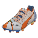 Puma evoPower 1.2 Graphic POP FG (White/Orange Clow Fish)