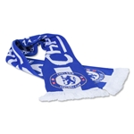 Chelsea 14/15 EPL Champions Jacquard Scarf (Royal)